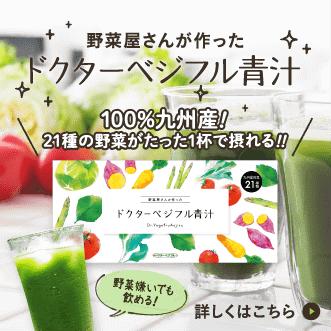 ドクターベジフル青汁 100%九州産 無添加 約1カ月分(30包)