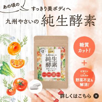 九州やさいの純生酵素 30粒30日分