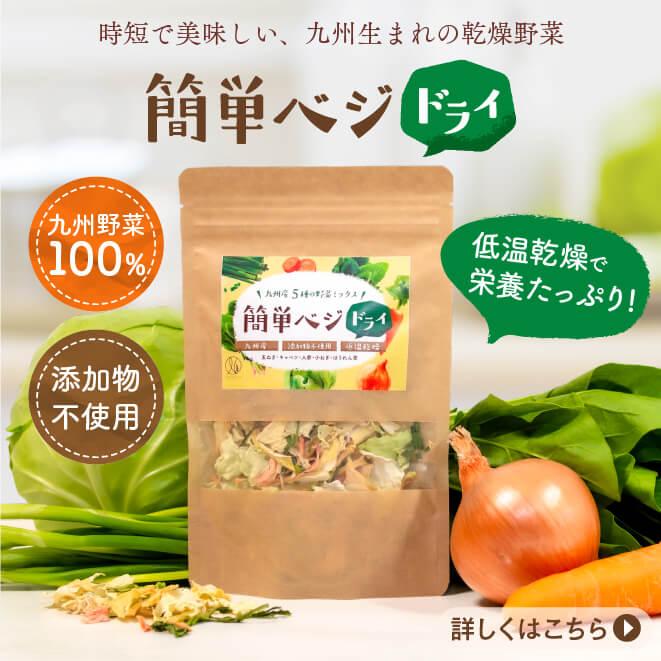 【3袋セット】簡単ベジドライ(1袋40g)