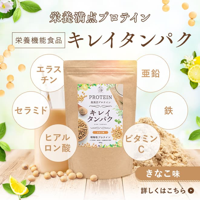 美容プロテイン「キレイタンパク(約15日分/300g)」栄養機能食品)